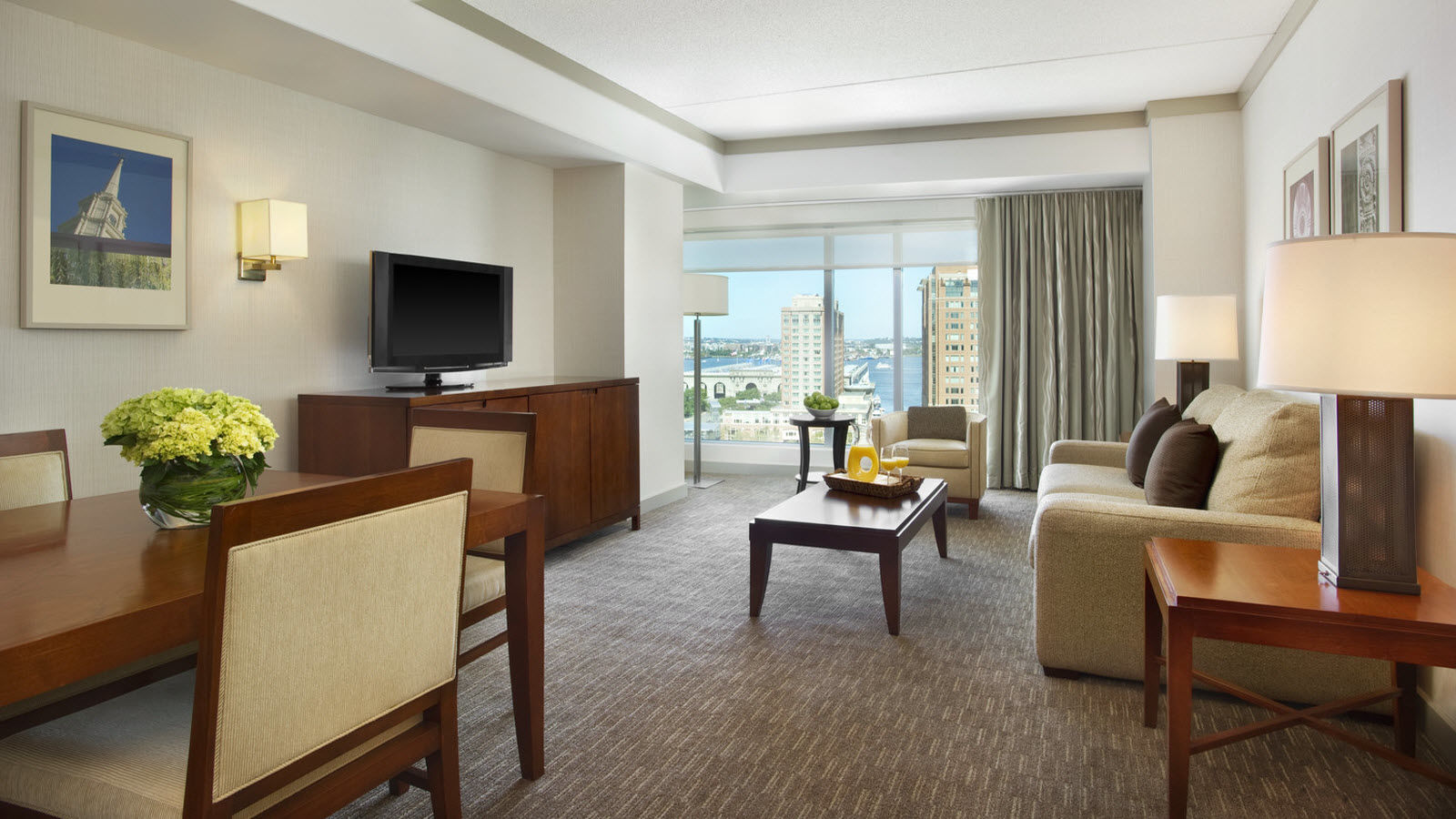 The Westin Boston Waterfront Harborview Suite