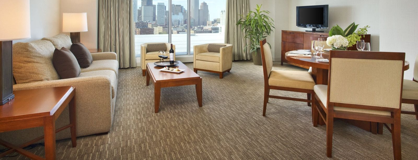 The Westin Boston Waterfront Skyline Suite